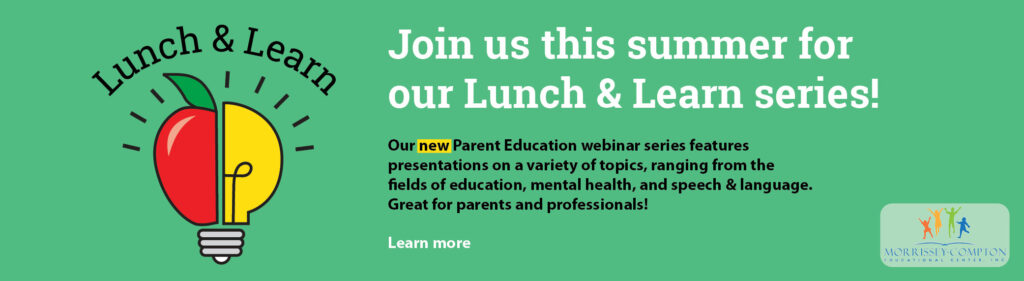 Green 2021 Lunch & Learn series banner